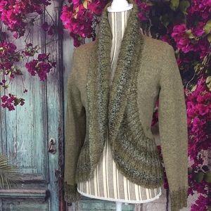 💐 Woolrich 100% Pure Merino Italian Wool cardigan